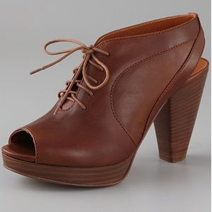 Madewell The Oxford Sling Back Booties 1937